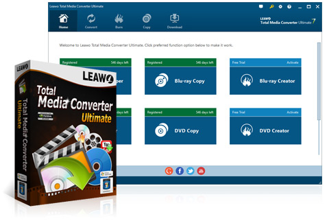 Leawo Total Media Converter 7.1.0.8 Crack Full Free Download