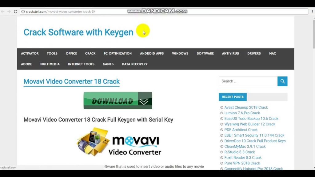 Movavi Video Converter 20.2.0 Crack + Activation Key 2020 Full Latest