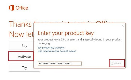 Microsoft Office 2016 Professional Plus Crack + Product Key Free Download