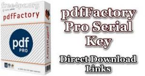 pdfFactory Server Edition 7.34 With Activation Code Full Version Free Download
